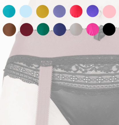 choose the colour of your new suspenderbelt