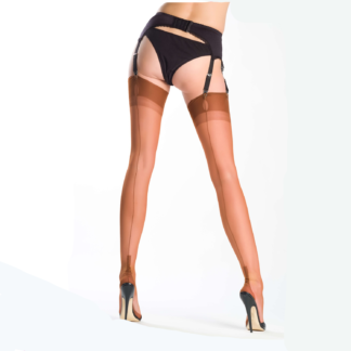 Cuban Heel Stockings from the rear - and what a rear